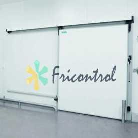 Puerta frigorífica corredera