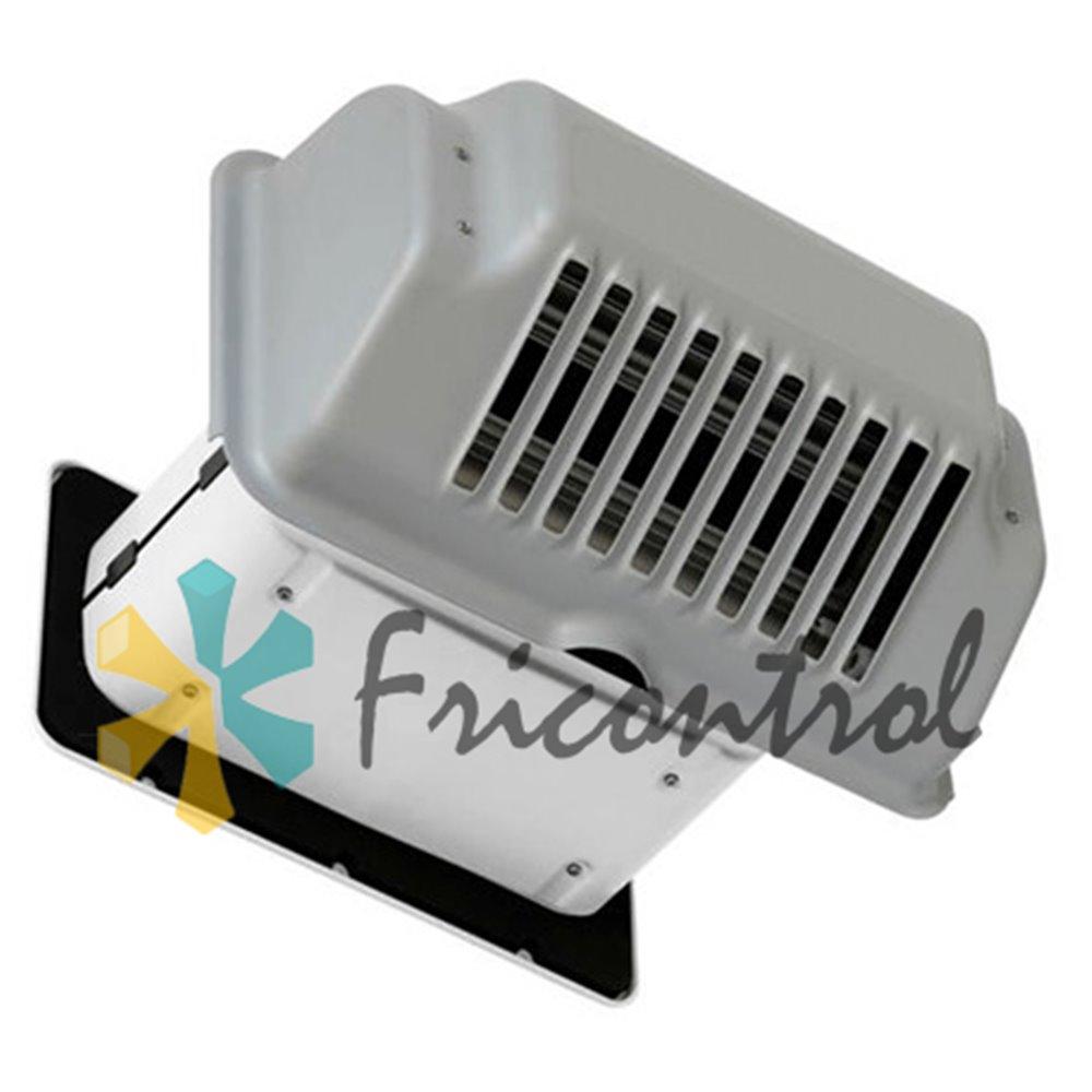 Válvula calefactora para grandes cámaras