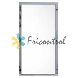 Puerta frigorífica pivotante uso industrial