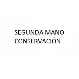 SEGUNDA MANO CONSERVACIÓN