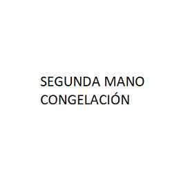 SEGUNDA MANO CONGELACIÓN