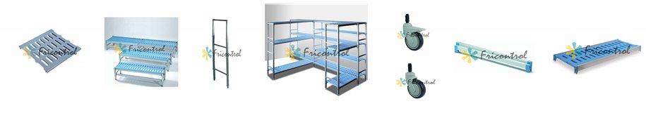 Estanterias modulares para camaras frigorificas