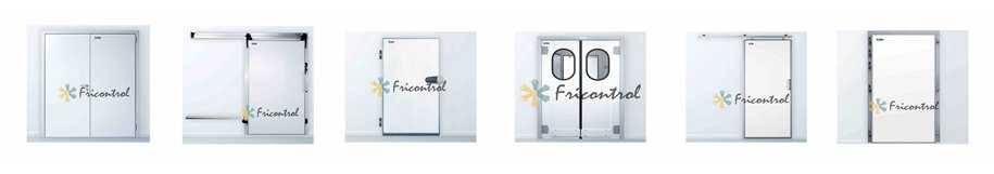 Puertas frigorificas para camaras de frio modulares